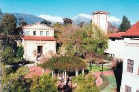 Downtown Claremont, California: location of the non profit training workshop.