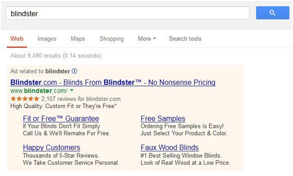 How to optimize AdWords by improving sitelinks with descriptions.