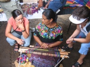 Service learning: working with artisans.