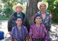 Village elders in Solola, Guatemala.